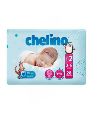 FRALDA BEBE CHELINO T/2 R....